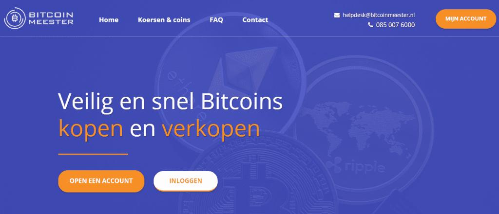 Bitcoin kopen met Bancontact bij Bitcoin Meester