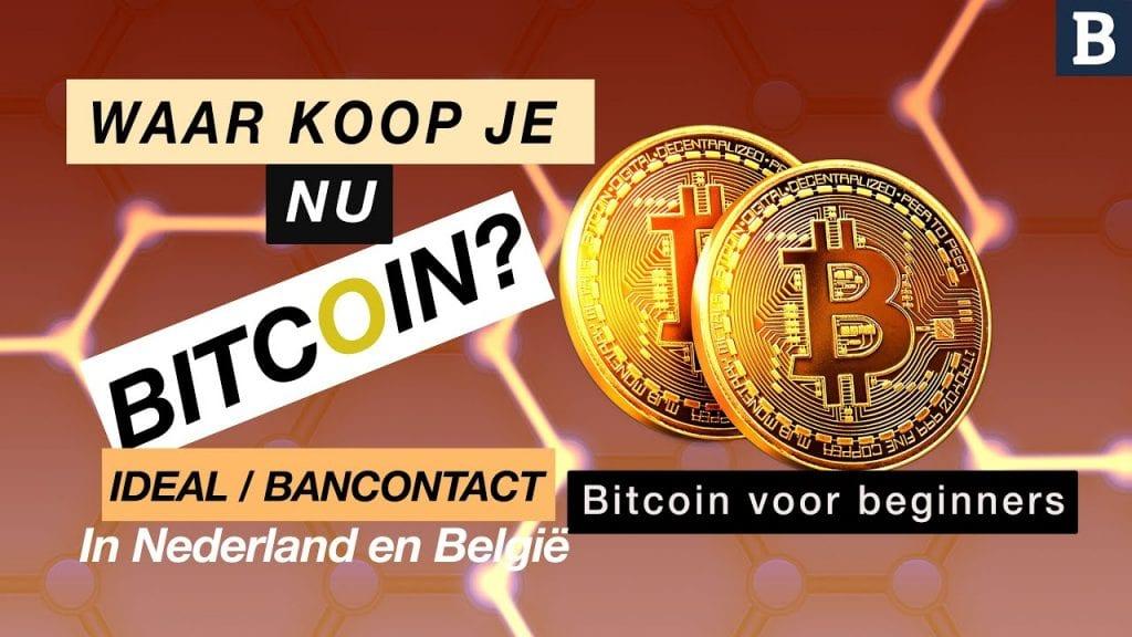 Bitcoins kopen met Bancontact video uitleg voor beginners